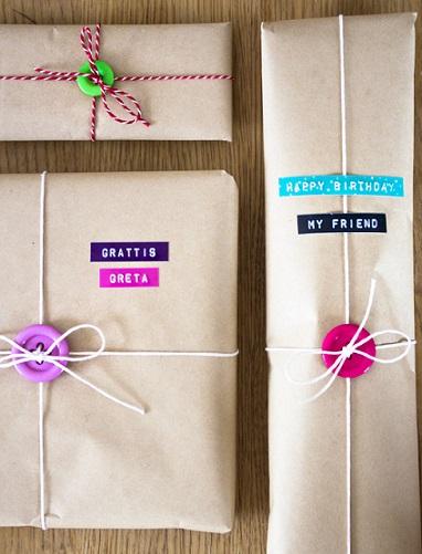 Forrando regalos con reciclado mam extrema - Envolver libros de forma original ...