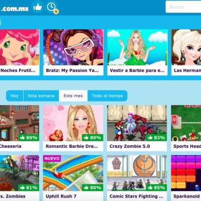 Juegos en línea para las princesas de la casa