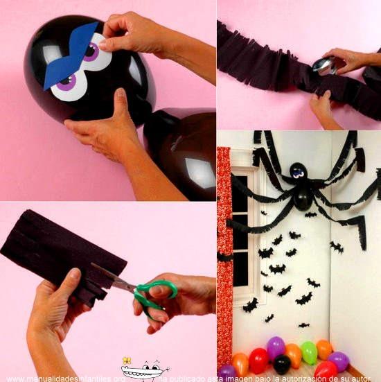 decoracion-halloween-con-globos