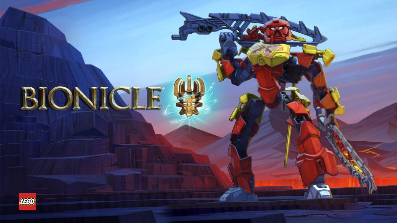 LEGO(R): Bionicle(R): The Journey to One Launching Exclusively On Netflix in 2016 (PRNewsFoto/Netflix)