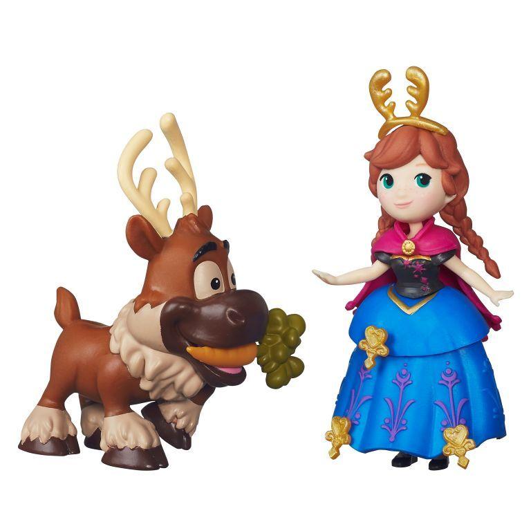 Mini frozen y amigos Anna y Sven