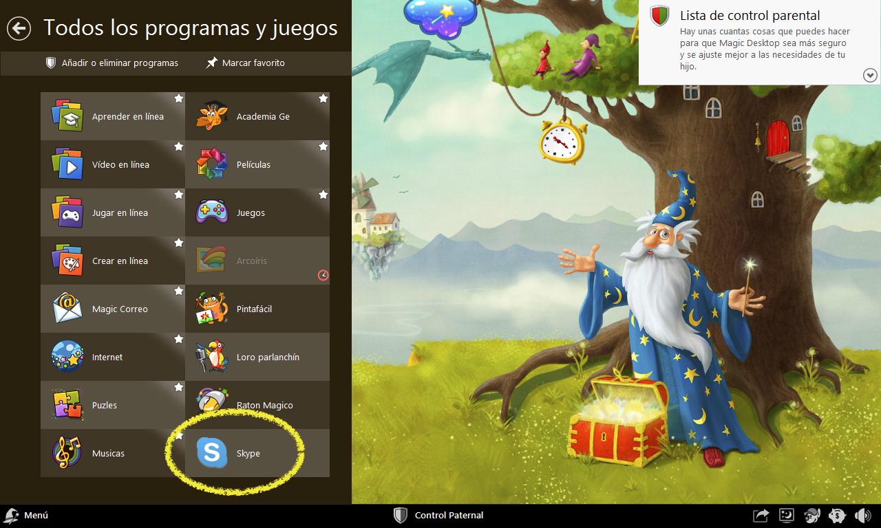Magic Desktop Programas